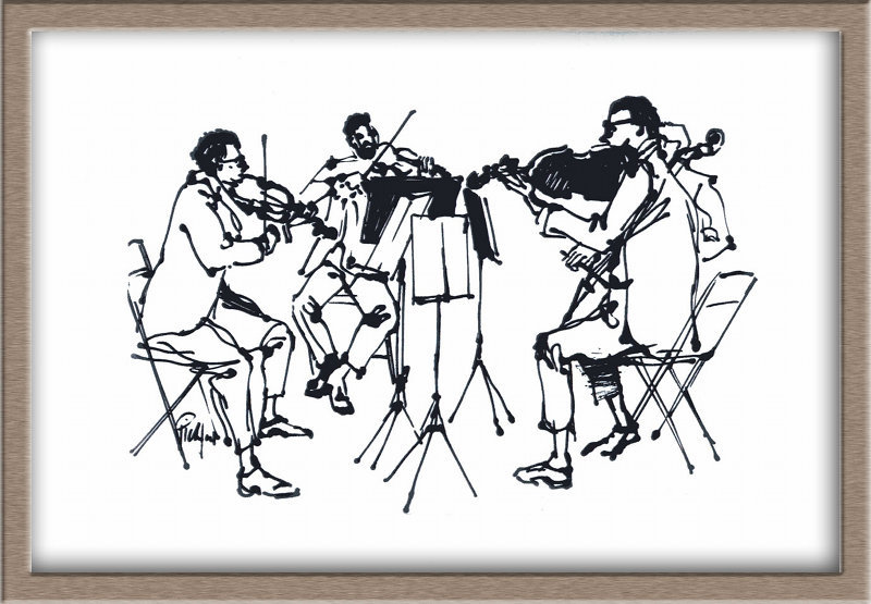 Chamber Music Drawing Ffcf Photo Gallery Picture
